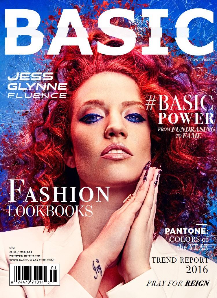 Jess Glynne BASIC Magazine