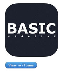 basic magaizne itunes
