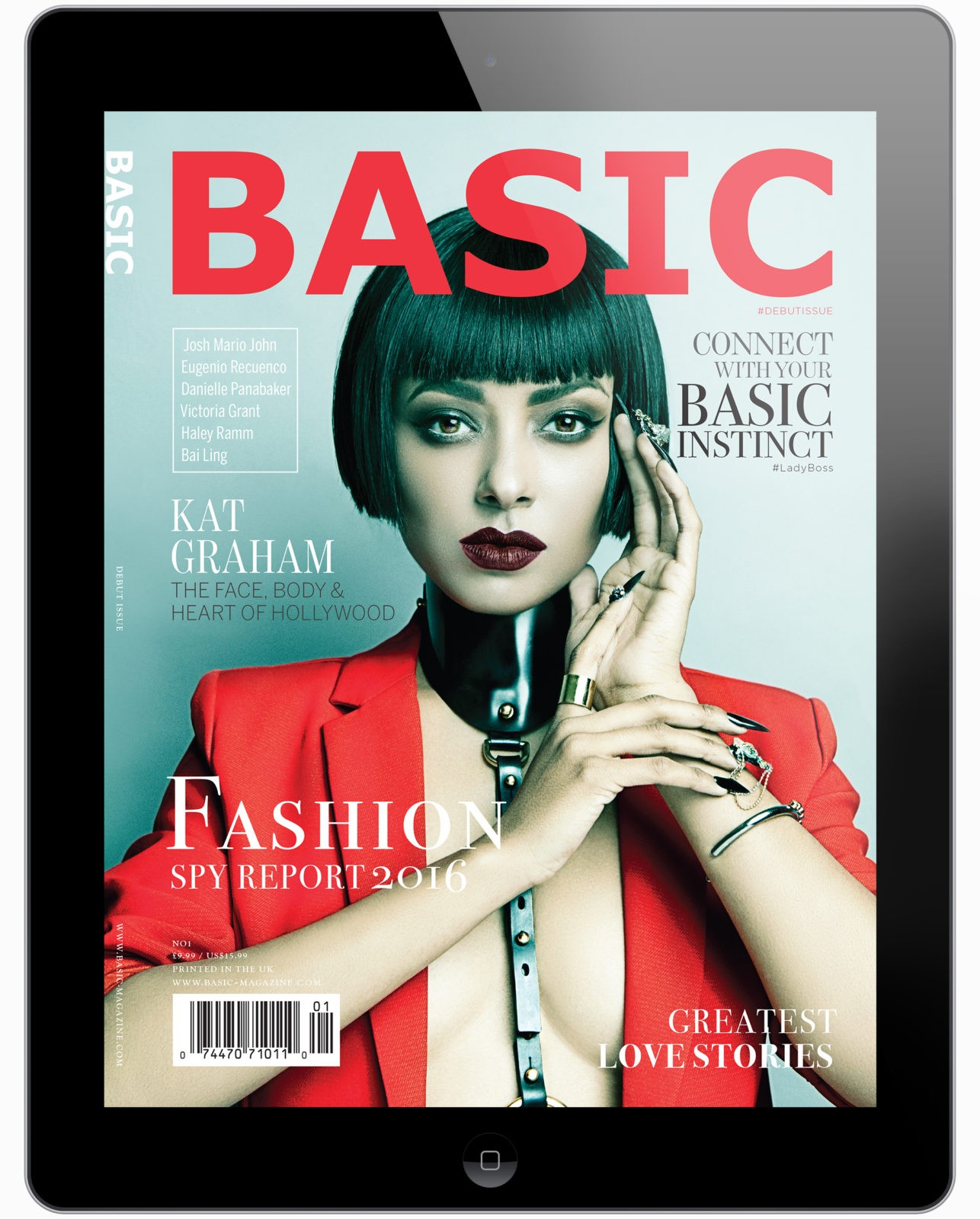 basic magazine ipad