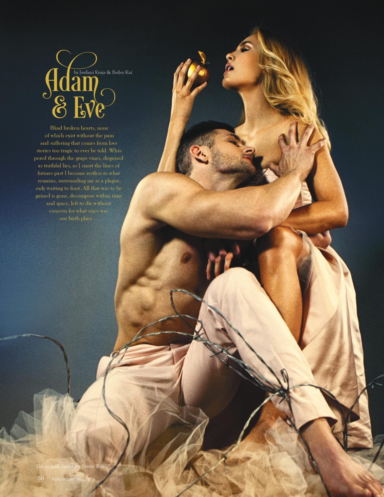basic magazine love stories adam and eve