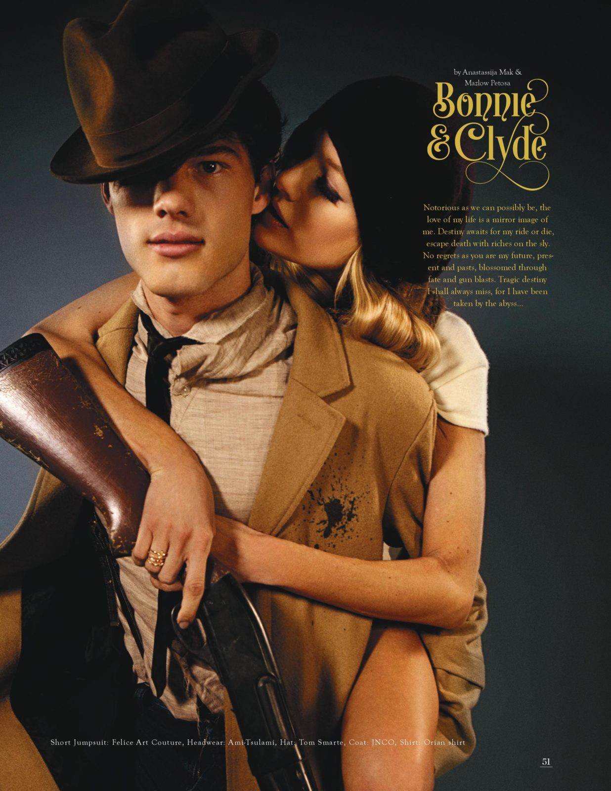 basic magazine love stories bonnie and clyde