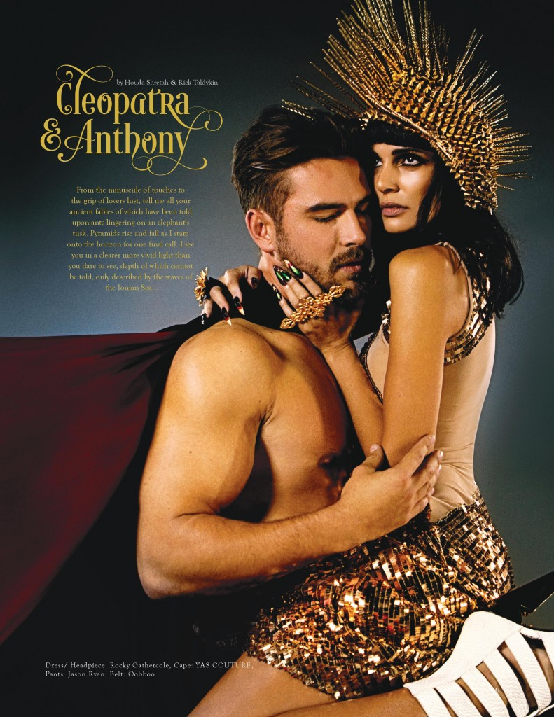 magazine content on the subject of cleopatra