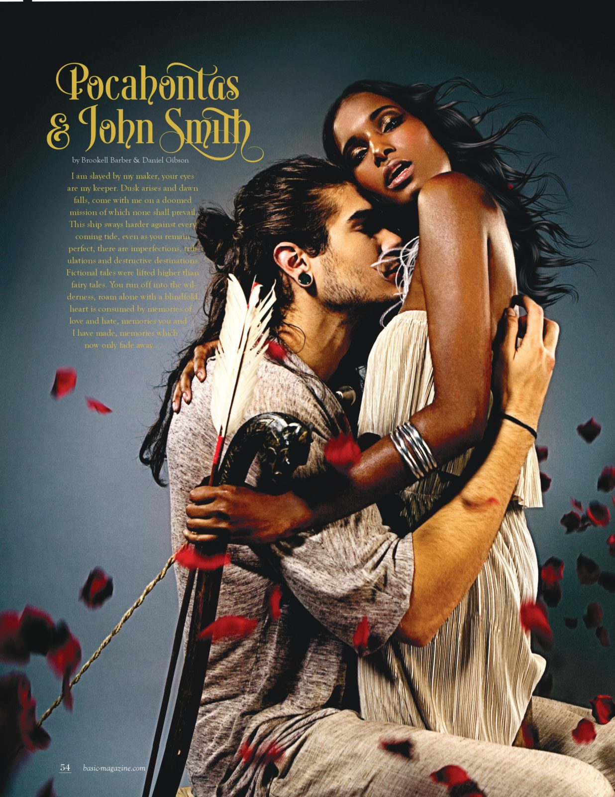 basic magazine love stories pocahontas and joshn smith