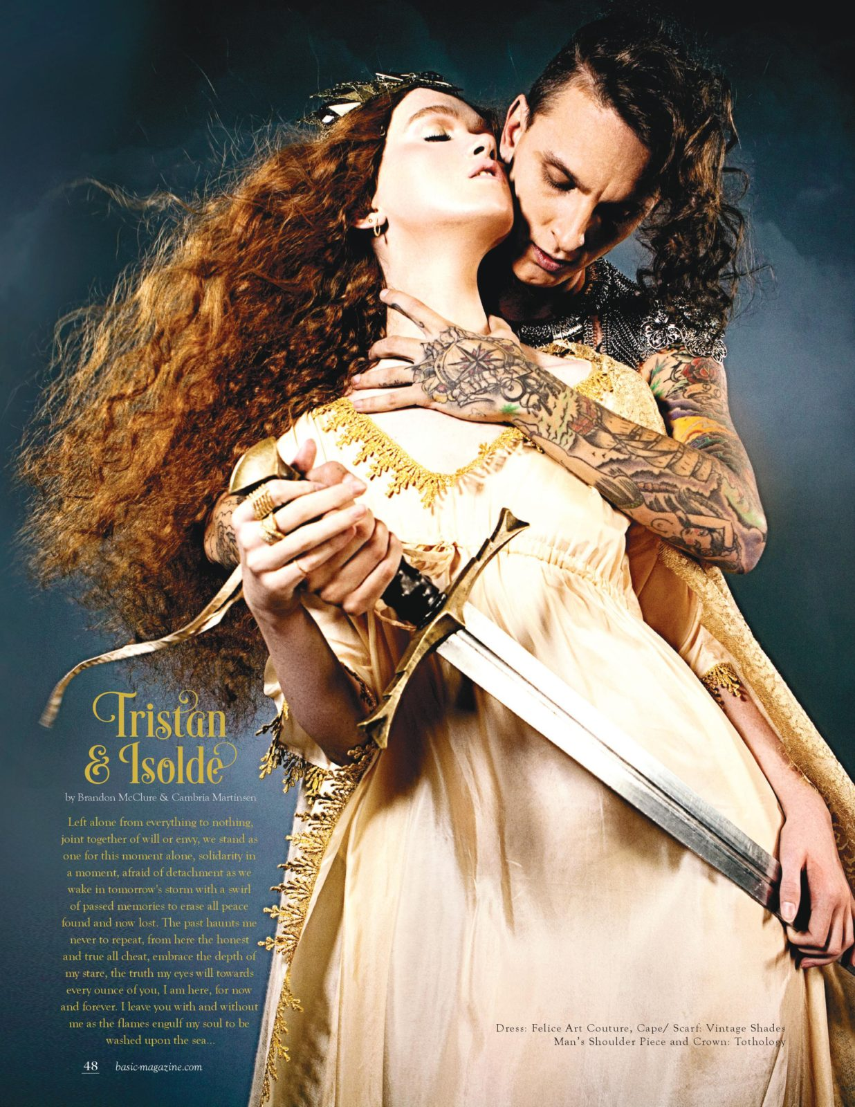 basic magazine love stories tristan and isolde
