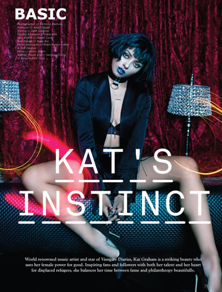 kat graham_basic magazine_instinct issue