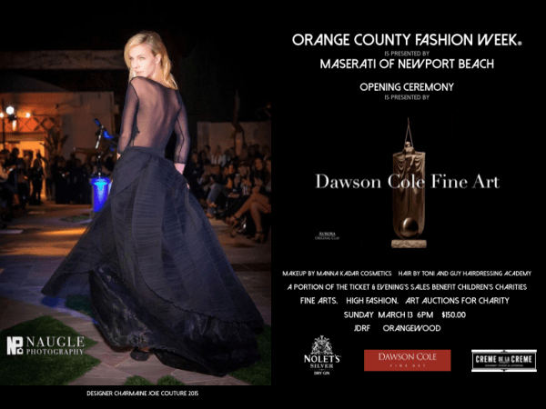 ORANGE COUNTY FASHION WEEK  Day III