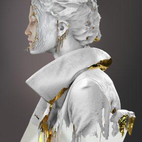 FRACTURED GOLD by Gelou Karoll