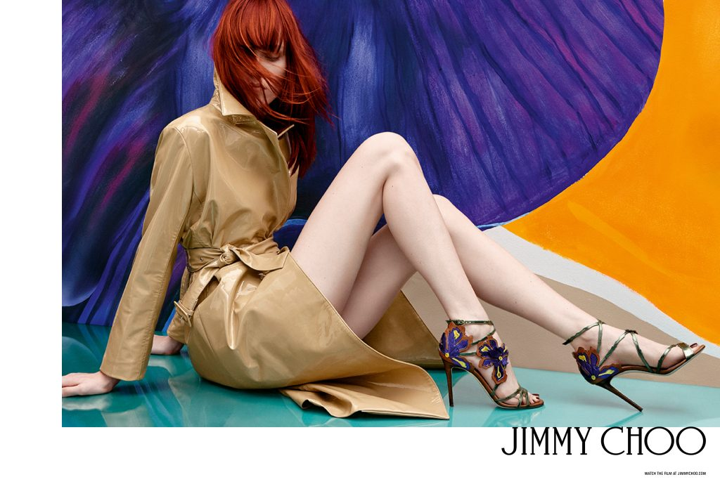 Jimmy Choo Releases New Spring 2017 Campaign