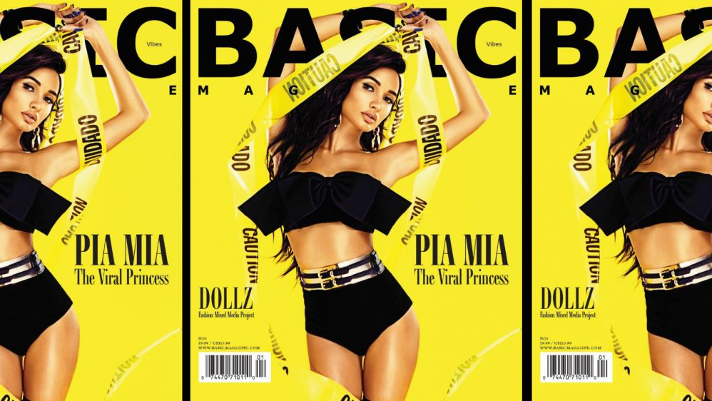 PIA MIA BASIC Cover Star #VIBEZissue