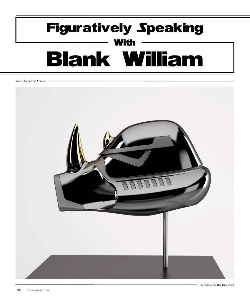 basic magazine blank William
