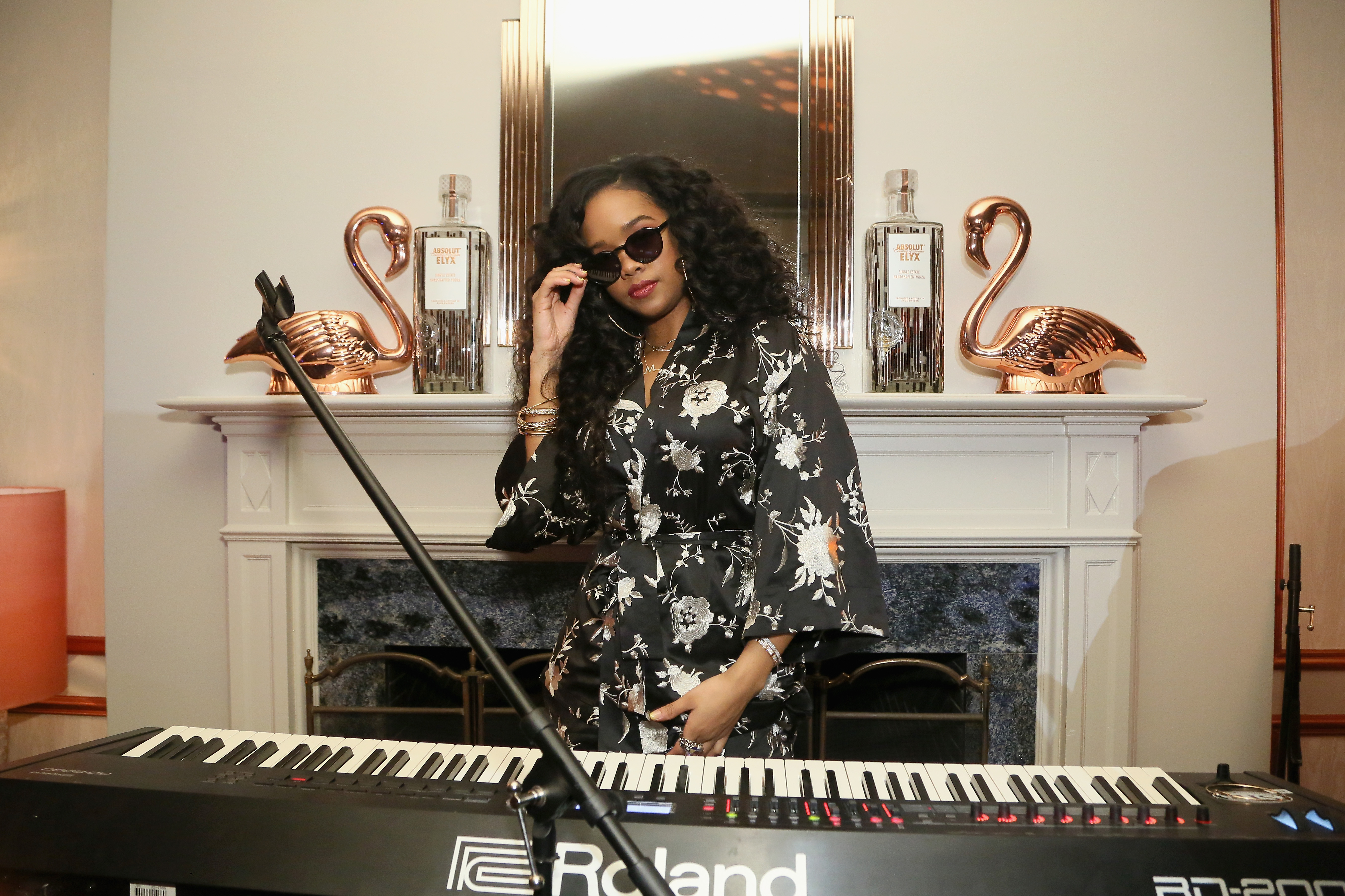 BASIC Magazine & H.E.R. Pre-Grammy Party with Absolut Elyx