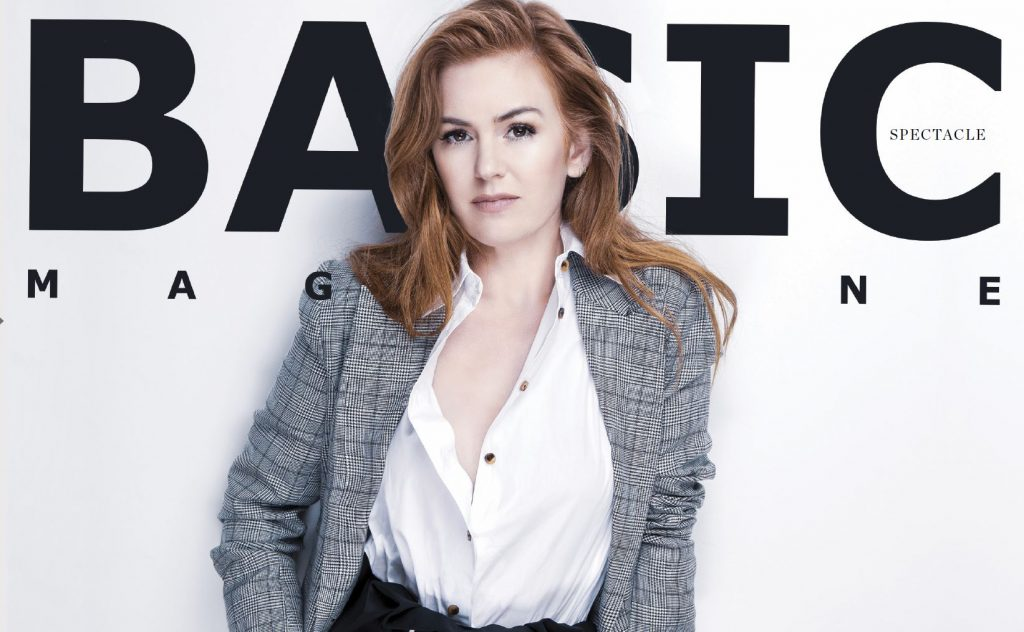 New Issue! BASIC #Spectacle Isla Fisher