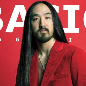 New Issue! BASIC #Spectacle Steve Aoki