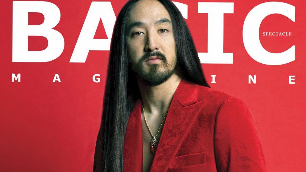 New Issue! BASIC #Spectacle Steve Aoki