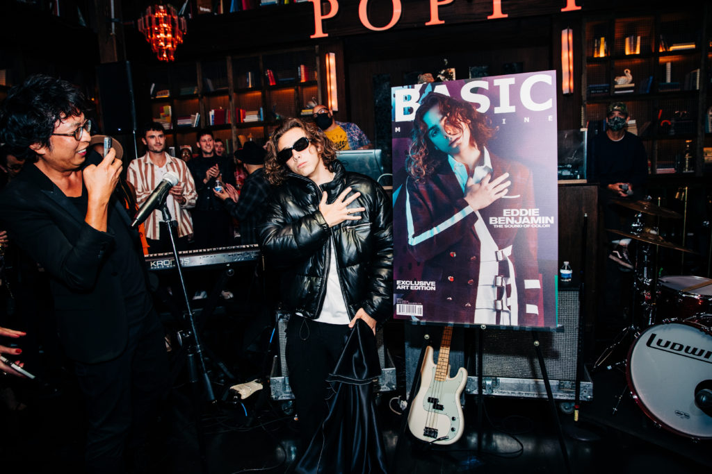 BASIC Eddie Benjamin Cover Release Party